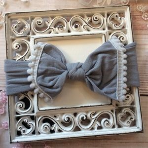 Other - Boutique Baby Girls Gray Headband